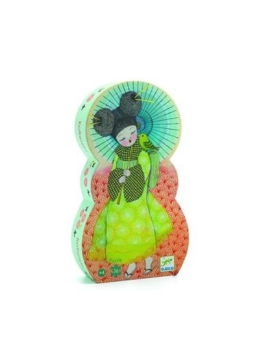 Djeco Djeco Dekoratif Puzzle 36 Parça/Japon Prenses Pembe